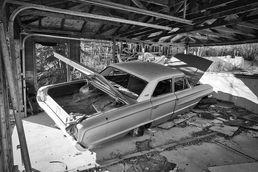 abandoned highschool, uranium city