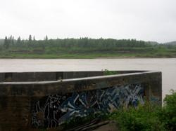 La Colle Falls, N. Saskatchewan