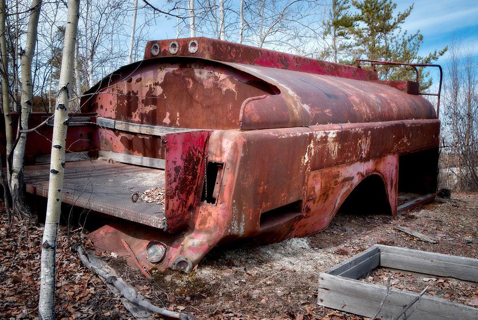 abandoned farmhouse, aberdeen, saskatchewan