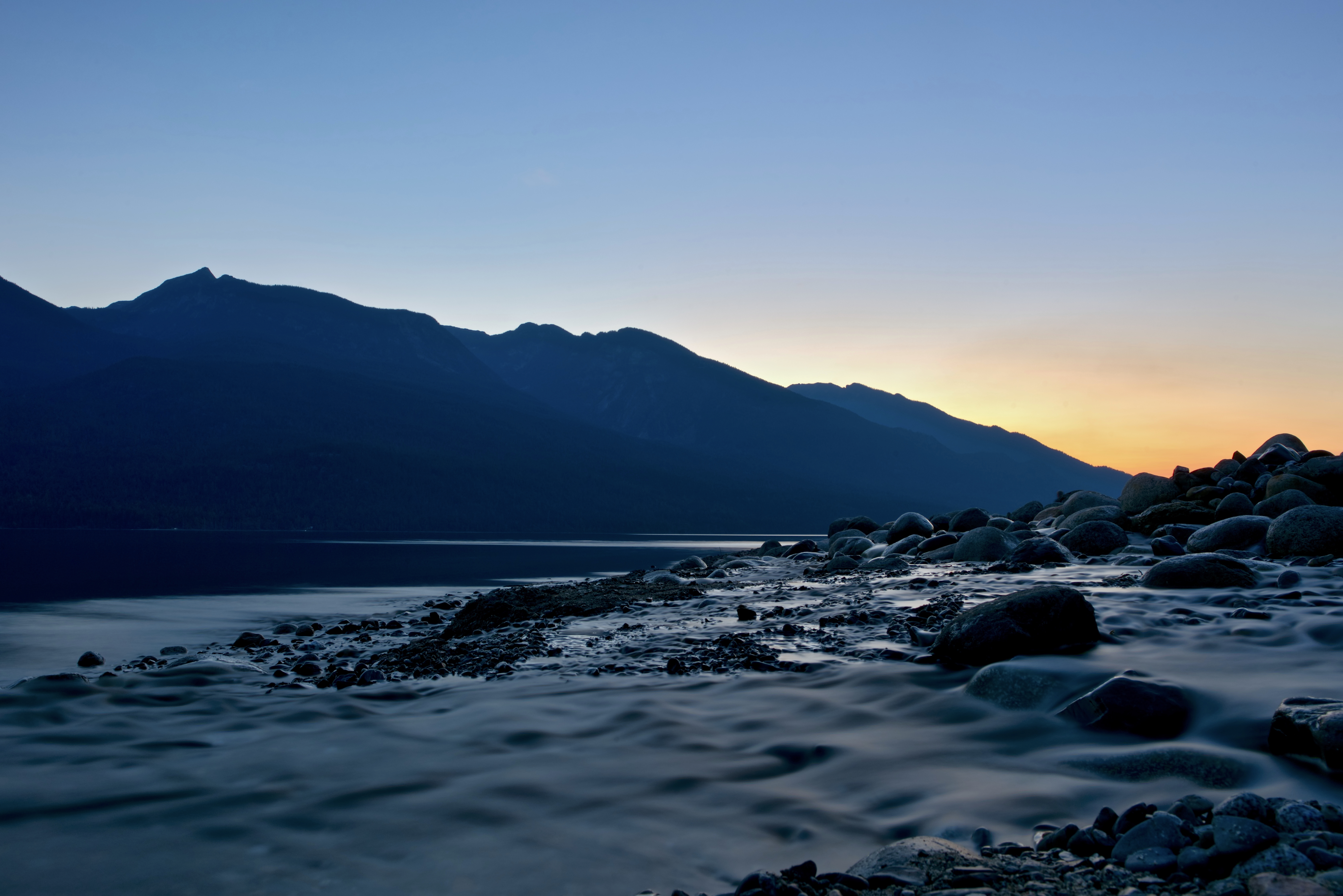 Lake Slocan, BC