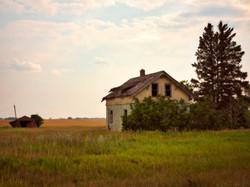 Abandoned Saskatchewan Farmhouse