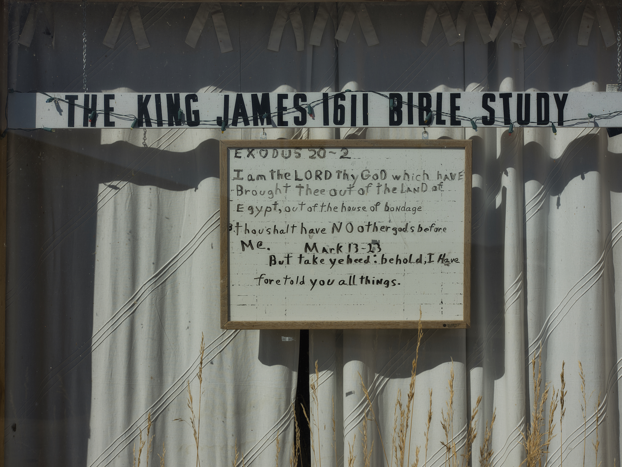 Abandoned Bible Study, Jeffrey City