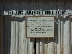 Abandoned Bible Study, Jeffrey City