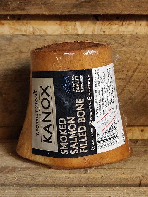 Smoked Salmon Filled Bone