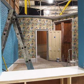 Switch Set. Wallpapering