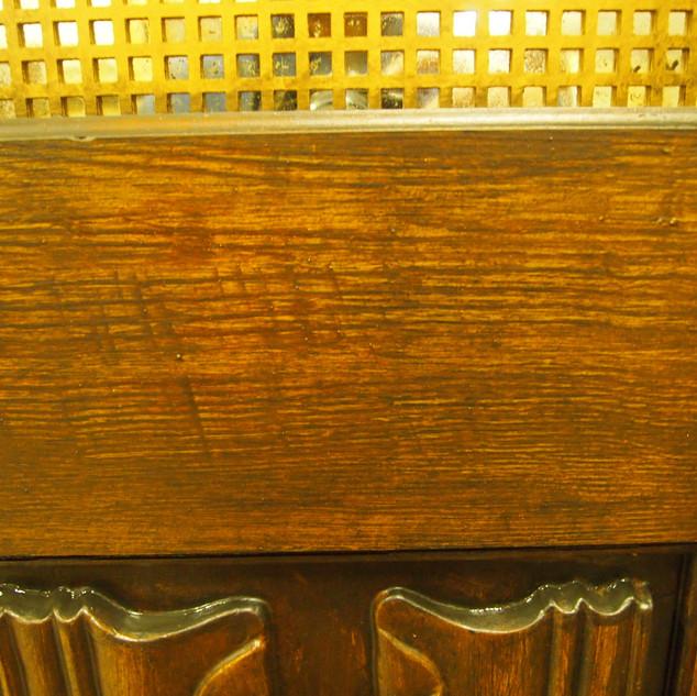 Wood Grained Door