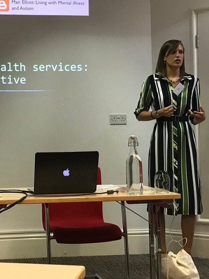 Presenting at Mental health and Education: Building relationships conference 2018