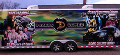 Dozers Games mobile video game truck / trailer of South Dakota
