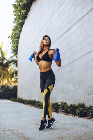 Jeanette Rios, Model, BecoFit Campaign