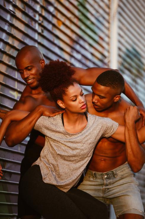 Alvin Ailey Dance Theater: Collin Heyward, Fana Tesfagiorgios, Michael Jackson Jr