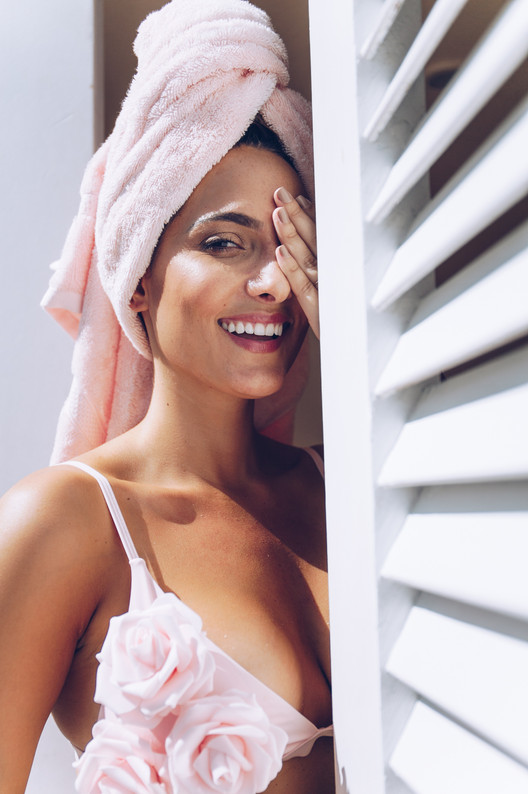 Maria Botero, Influencer, The Diplomat Resort and Spa Campaign