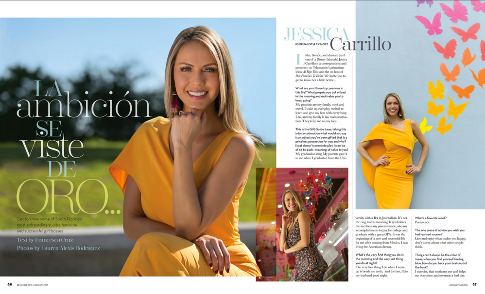 inWeston Magazine, Dec/Jan 2018 Girl Boss Issue, Jessica Carrillo
