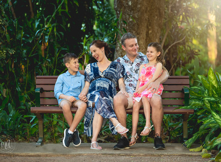 An afternoon with the Goldsacks. Matthew Allen Photography at Queens Gardens, Townsville