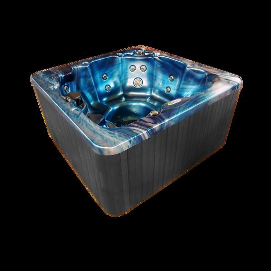 GL6 Majestic Sky Gray Cabinet Angled vie