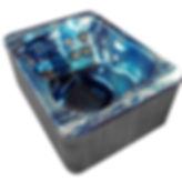 GL3 Majestic Sky Gray Cabinet Angled Vie