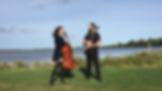 The HoneyVoom Duo with cello and guitar wedding music