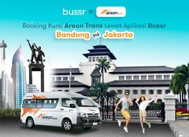 Bandung - Jakarta dan Sebaliknya Bisa Naik Bussr
