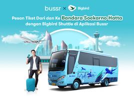 Big Bird Airport Shuttle di Aplikasi Bussr