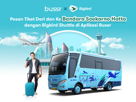 Big Bird Airport Shuttle di Aplikasi Bussr