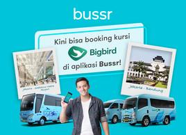 Bisa Pesan Tiket Shuttle Bus Big Bird di Aplikasi Bussr