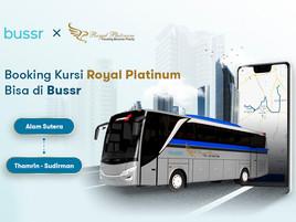 Bussr Jadi Mitra Resmi Royal Platinum
