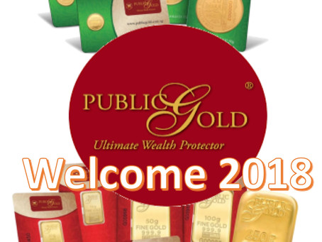 Welcoming 2018 for more Successes with Public Gold