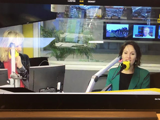 Silvia on BNR newsradio about doing business in India