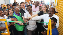 Opening Flagship Waste Management Facilities