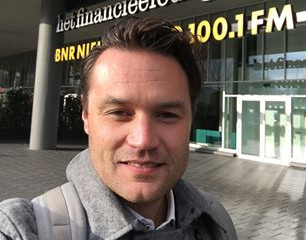 SweepSmart pitch and interview on Dutch radio