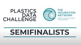 SweepSmart semi-finalist in the Plastics Data Challenge by The Incubation Network