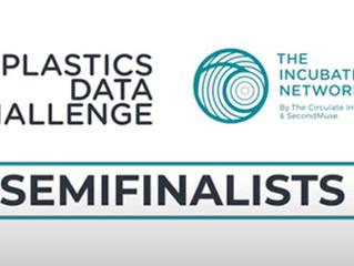 SweepSmart semi-finalist in the Plastics Data Challenge by The Incubation Network