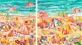 Happy Day (diptych)