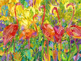 Flamingo Foliage