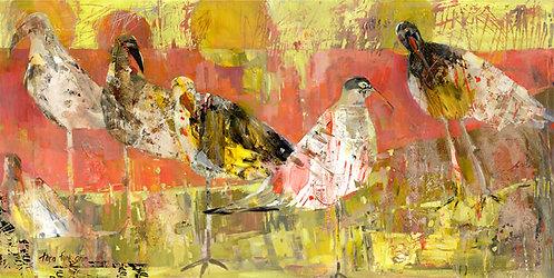 Beach Birds No. 5