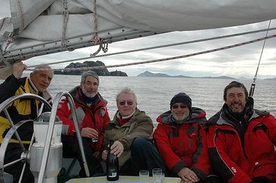 Sur fond de cap Horn retour d'Antarctiqu