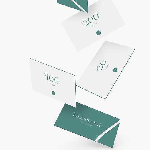 Glossarie Gift Cards