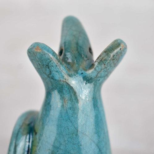 Raku Fired Ceramic Mouse