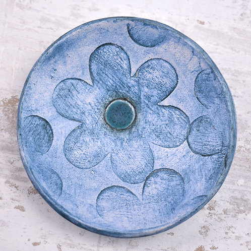 small round ceramic dish