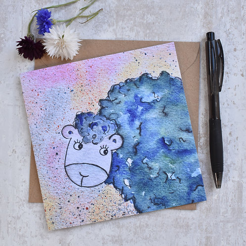 Greeting Card Sabrina the Sheep