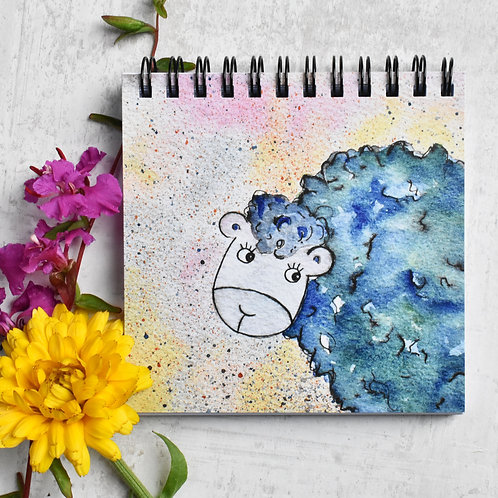 Notebook Sabrina the Sheep