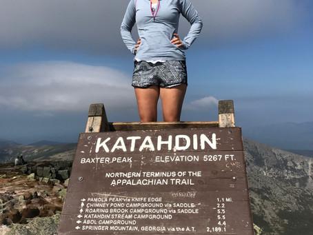 First Mt. Katahdin Summit