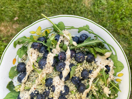 Blueberry Hemp Salad