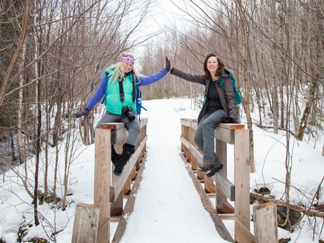 Snowshoe and Dinner: Northwoods Gourmet Girl