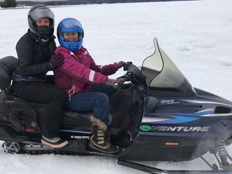 Snowmobiling: Maine Adventure #7