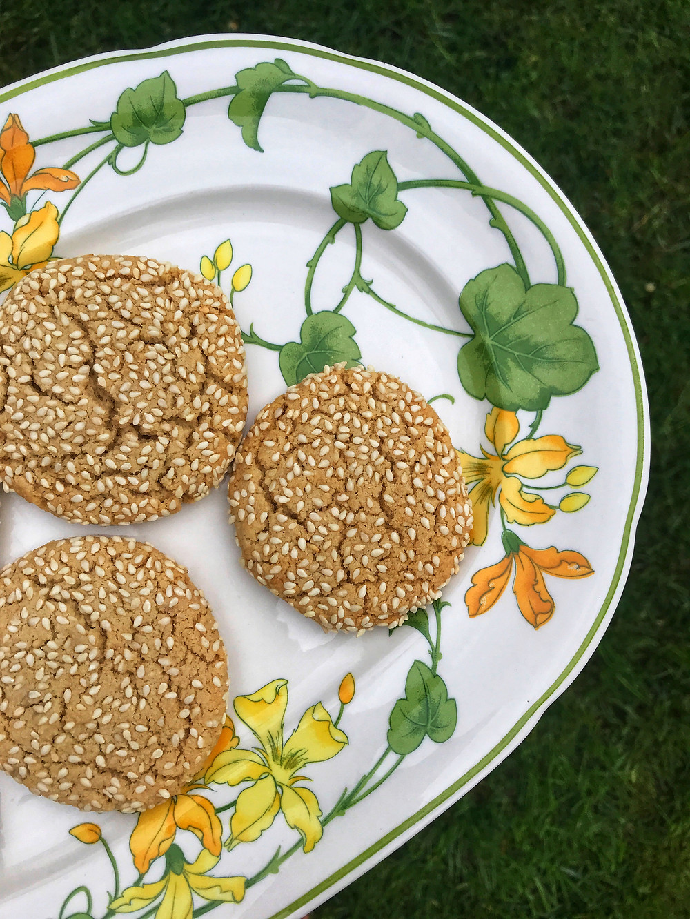 Maple Tahini Cookies by Samantha Coffin of The Wellness Rewind