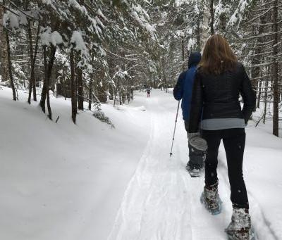 Snowshoeing: Maine Adventure #4