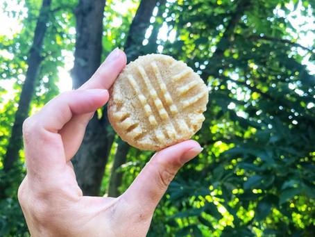 Simple Citrus Cookies with 3 Ingredients