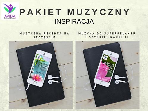 Pakiet muzyczny INSPIRACJA, MP3