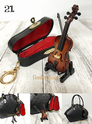 21リンブッソル:バイオリンのバッグチャーム ¥5,400