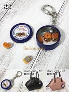 22リンブッソル:クッキー缶のバッグチャーム ¥3,000